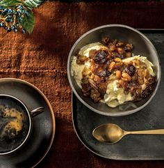 """One of Julia Child's holiday tips to the readers of Parade, where she wrote a recipe column from 1982 to 1985, was to """"spiffy up"""" store-bought mincemeat with grated apple and liquor, then heat it in a saucepan to make a rich, fragrant sauce. (Photo: Francesco Tonelli for The New York Times)"""