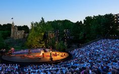 Shakespeare in the Park, one of New York City's most treasured summertime traditions. June 5 – August 25, 2012  Delacorte Theater  Mid-park at 80th St.  Manhattan, NY 10024.