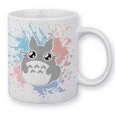 My Neighbor Totoro Mug Pokemon Chibi Pastel by Fluffy Chamalow Chamalow-Shop: Amazon.co.uk: Kitchen & Home
