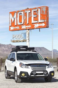 ROUTE 66 / On one of my NEON journeys (Yucca, AZ) - Subaru Outback. | Flickr - Photo Sharing!