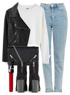 """Untitled #6068"" by laurenmboot ❤ liked on Polyvore featuring Topshop, MTWTFSS Weekday, Acne Studios, Yves Saint Laurent, rag & bone and NARS Cosmetics"