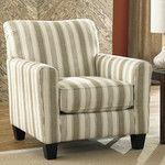 Benchcraft Laryn Arm Chair & Reviews | Wayfair (I like that seat cushion is removable)
