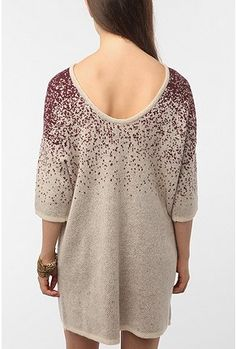 just bought this adorable sweater dress with a low back from uo for $15! say what?!?