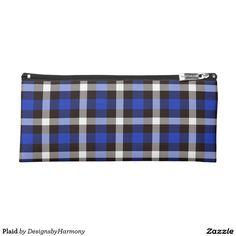 Plaid Pencil Case