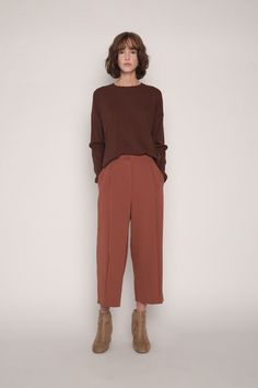 Shop new women's bottoms from OAK + FORT. Find pants, Maxi Skirts, and Culottes to update your wardrobe. Fall Winter Outfits, Autumn Winter Fashion, Summer Outfits, Fashion Tips For Girls, Work Fashion, 90s Fashion, Indian Fashion, Retro Fashion, Fall Fashion