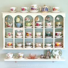 Teacup Shelf