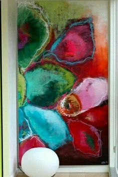 wow, this is awesome! wow, this is awesome! Abstract Flowers, Abstract Art, Pintura Graffiti, Love Art, Painting Inspiration, Diy Art, Amazing Art, Awesome, Modern Art