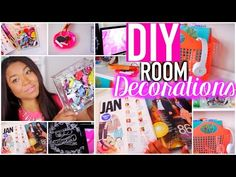 DIY Room Decorations +Desk Organization Tips for the New Year! - YouTube