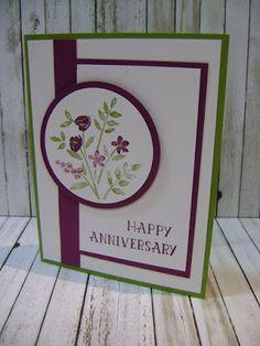 Stampin' Studio, Stampin' Up! Number of Years, Anniversary Card