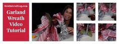 Garland Wreath Video Tutorial by @Sandy Sandler @Sandy Sandler