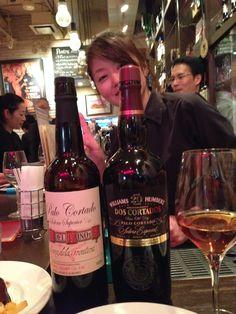 Venenciadora Ms. Aki Shimada @ Bar de Ollaria Ginza