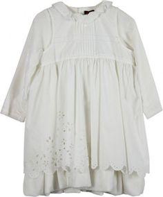 Catimini Crushed Velvet Dress