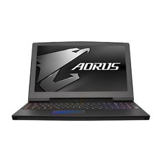 "NVIDIA® GeForce® GTX 1080 GDDR5X 8GBLatest MAX-Q Design7th Gen. Intel® Core™ i7 Overclocked ProcessorThunderbolt™ 3: Up to 40Gbps Transfer Speed32-bit ESS Sabre Hi-Fi Audio DACIsland-Style AORUS RGB Fusion Keyboard: Per-Key RGB Backlight15.6"" UHD 3840x2160 ..."
