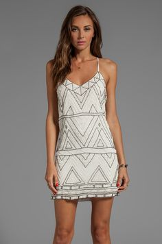 Parker Finn Dress in Ivory from REVOLVEclothing