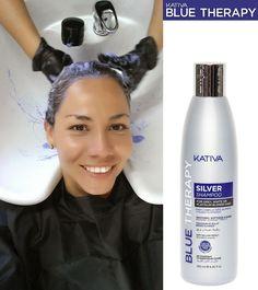 Λίγες ημέρες ακόμα!!! Η ΕΞΕΛΙΞΗ ΣΤΑ ΚΟΜΜΩΤΗΡΙΑ!!! ΤΟ ΚΑΛΥΤΕΡΟ ΤΗΣ ΑΓΟΡΑΣ!!! Kativa Blue Therapy Silver Shampoo To Kativa Blue Therapy Silver Shampoo είναι ένα σαμπουάν που χρησιμοποιεί μια φόρμουλα από μπλε και μωβ διορθωτικές χρωστικές της επόμενης γενιάς . Χρησιμοποιεί μικροσωματίδια που διεισδύουν στην ίνα της τρίχας ,εξουδετερώνοντας τις ανεπιθύμητες αποχρώσεις του κίτρινου και πορτοκαλί ενώ ταυτόχρονα παρέχουν ενυδάτωση και λαμπερά και υγιή μαλλιά! Εάν έχετε γκρίζα μαλλιά, έχουμε ένα…