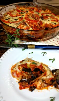 Eggplant Roast - Gluten Free Farm - Simple Like This Veggie Recipes, Low Carb Recipes, Vegetarian Recipes, Cooking Recipes, Healthy Recipes, Best Dishes, Light Recipes, Food And Drink, Easy Meals