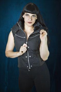 Ladies Puma Vest - Ripstop Edition - Black