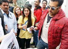 Salman Khan shoots for 'Kick' in Warsaw (view all pics)