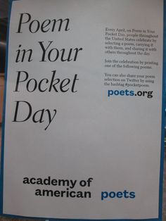 April 2015 Display - National Poetry Month