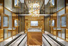 Graff Diamonds otwiera butik w Paryżu - Jubiler Graff Jewelry, Jewellery Showroom, Luxury Store, Diamond Stores, Store Fronts, Harrods, Jewelry Stores, Mansions, House Styles