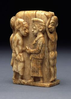 "aseantoo submitted to medievalpoc:  Unknown Vili artist  Sculpture with Six Figures  Democratic Republic of the Congo (mid to late-1800s)  Ivory  Carlos Museum  "" From the mid-nineteenth century through the first two decades of the twentieth, the Vili..."