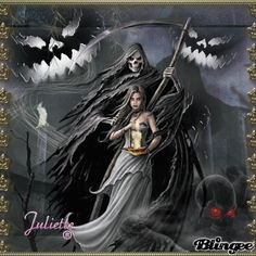 femal gothic grim repers | This Blingee was created with Blingee Plus! Upgrade now! Install ...
