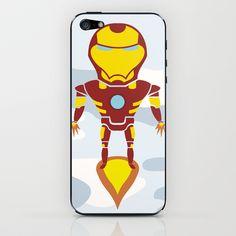 Tony's Flight iPhone & iPod Skin
