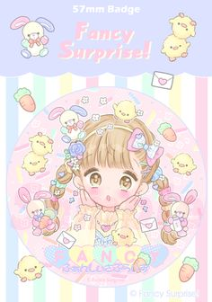 fancysurprise: NEWバッチ♥Easter