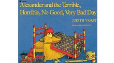 Everyone has a bad day but Alexandria has an exremly bad day.  It is just the right book to remind us we can have a bad day once in awhile.