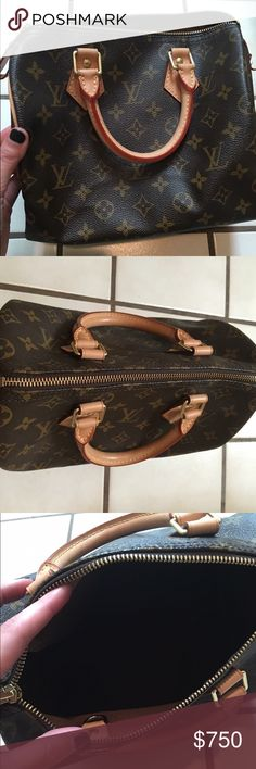 Louis Vuitton purse Louis Vuitton Speedy 25. Perfect condition! Originally $1250 with tax Louis Vuitton Bags Mini Bags