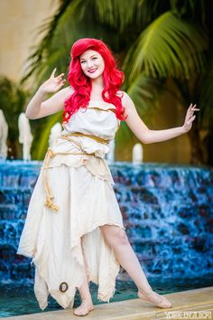 Ariel (Ashlynne Dae) from Disney's The Little Mermaid — #YorkInABox #WonderCon2015