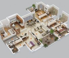 A one bedroom apartment can be plenty of space if you know how to organize things. There are plenty of ways to layout a one bedroom, no matter what the size.