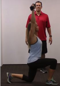 Simple Tweak To The Lunge To Fire Up The Core