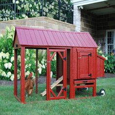 Little Cottage Co. Atlanta Chicken Coop Panelized Kit