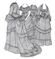 Une robe a transformation selon les travaux de Janet Arnold / A transformation dress following the work of Janet Arnold