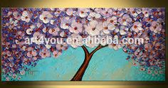 Resultado de imagen para flower paintings modern