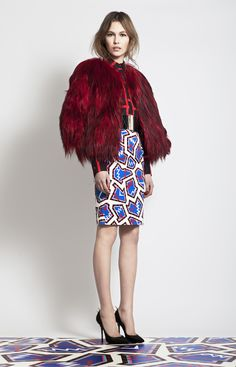 Awesome patterns and this skirt... MSGM Autumn/Fall 2012-2013