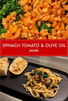 Tomato Pasta Recipe, Pasta Recipes, Cooking Recipes, Olive Oil Pasta, Homemade Garlic Bread, Dinners, Meals, How To Cook Pasta, Noodle