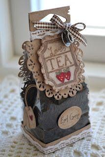 Idea for a bag of tea as a gift