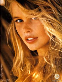 German model, Claudia Schiffer. The image of innocence in women, their physical beauty became a means of inspiring men. A sublime partnership between men and women developed. Women brought men the only warmth, comfort and support they would know on humanity's 2 million year journey to self understanding. Read more: http://www.worldtransformation.com/freedom-book1-the-battle-of-the-sexes/