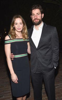 Emily Blunt and John Krasinski are one adorable duo!