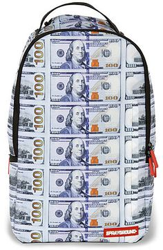 The New Money Backpack in Green by Sprayground use rep code: OLIVE for 20% off!