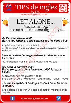 A veces los hispanohablantes nos confundimos con el uso de estos tres términos: alone, only y lonely, pero ya verás que es muy fácil de ver la diferencia.