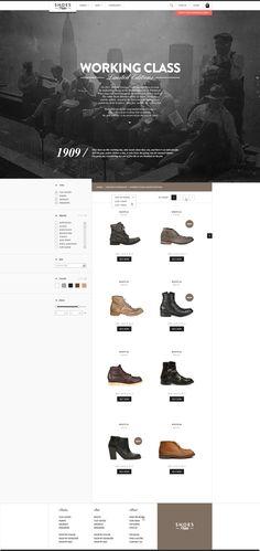 Web   Shoesprive Concept by Thomas Le Corre, via Behance