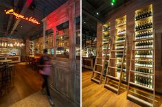 Burger and Lobster, International. restaurant interior design by DesignLSM. Photography (c) James French Photography