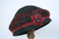 alpaca felted hat