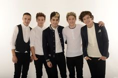 1D on BBCCin photoshoot...