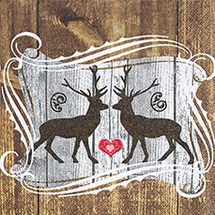 Stags in love