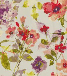 HGTV Home Decor Print Fabric Color Study Berry $39.99