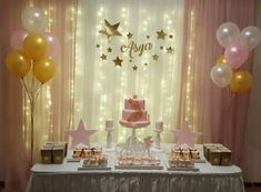 Birthday themes for teens girls party ideas under the stars 66 Ideas - Party Ideen Fun Party Themes, Birthday Party Decorations, Birthday Parties, Ideas Party, Teen Girl Parties, Girls Party, Baby Shower Themes, Baby Shower Decorations, Sweet 16